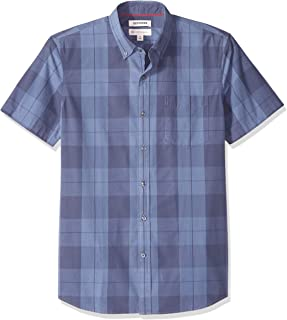 Goodthreads Standard-fit Short-Sleeve Dobby Shirt Hombre