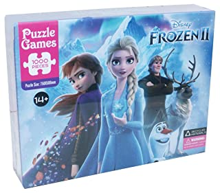 Disney Frozen 2 Puzzle for Kids, 1000 Pieces - Multi Color