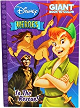 Disney Heroes To The Rescue Coloring Book