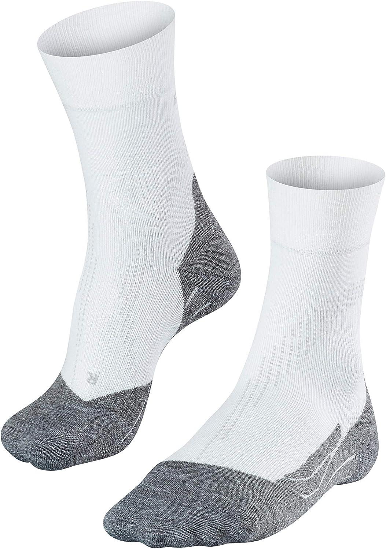 FALKE Mens Stabilizing Cool Running Socks - Anti Blister, In Black or White, US sizes 6.5 to 13.5, 1 Pair