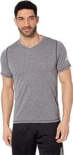 [adidas(アディダス)] メンズタンクトップ・Tシャツ Freelift V-Neck T-Shirt Black Heather 1 XS [並行輸入品]