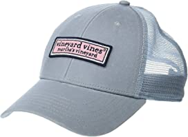 97c7d0ae Vineyard Vines Whale Logo Baseball Hat at Zappos.com