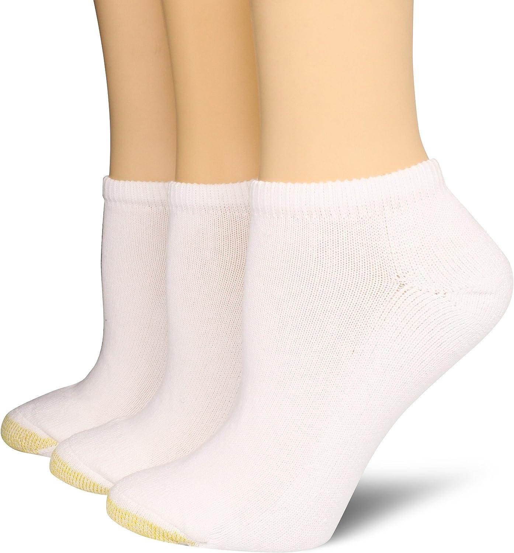 Gold Toe Women's Ultratec Liner Socks, 3-Pairs