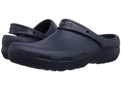 Crocs Work Specialist II Clog (Navy 1) Clog Shoes