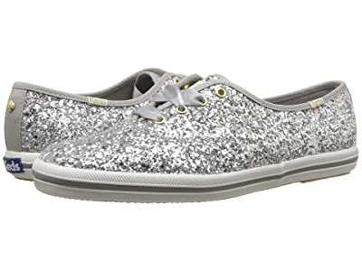 Keds x kate spade new york Champion (Silver Glitter) Women