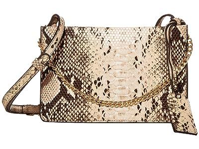 SOLE / SOCIETY Gigi Crossbody (Blush Snake) Handbags