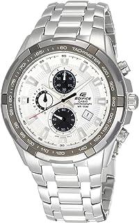 ساعة يد رجالي موديل ايديفيس من كاسيو ، انالوج بعقارب ، ستانلس ستيل ، فضي ، EF-539D-7A