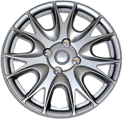 "Hubcap 17 inch Rim Wheel Skin Cover 4pcs Set 17/"" Inches Hub caps Style 533"