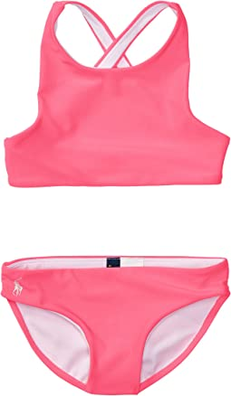 Solid Two-Piece Swimsuit (Toddler)