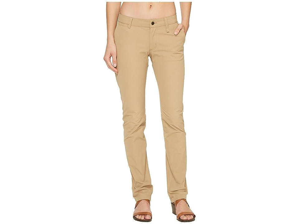 Fjallraven Abisko Stretch Trousers (Sand) Women