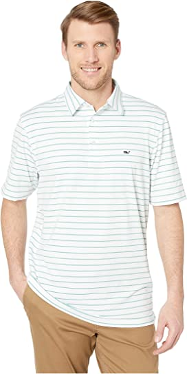 3cad339058 Southampton Stripe Sankaty Performance Polo. Vineyard Vines. Southampton  Stripe Sankaty Performance Polo
