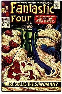 FANTASTIC FOUR #61 1967-JACK KIRBY-SANDMAN SILVER SURFER