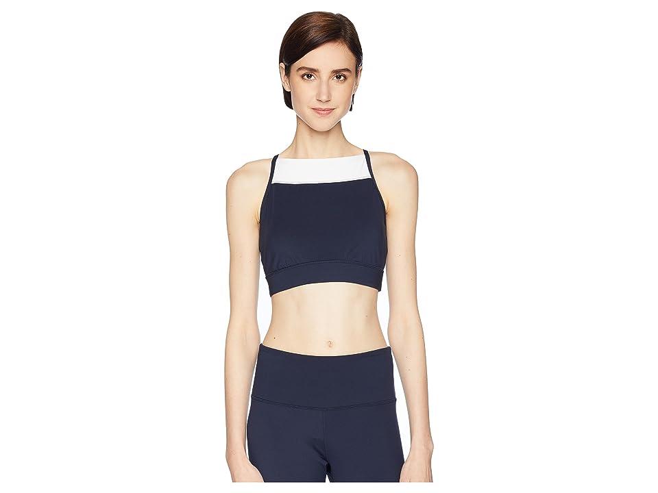 Kate Spade New York Athleisure Color Block Sports Bra (Fresh White Multi) Women