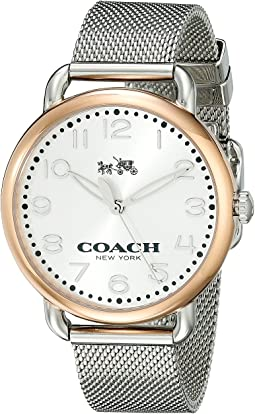 COACH Delancey 36mm Mesh Bracelet Watch