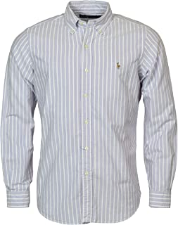 Polo Ralph Lauren Men's Classic Fit Striped Oxford Button-Down Shirt