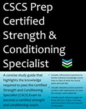 CSCS Certified Strength & Conditioning Specialist Exam Prep: 2019 Edition Study Guide that highlights the knowledge required to pass the CSCS Exam to become a certified strength & conditioning coach.