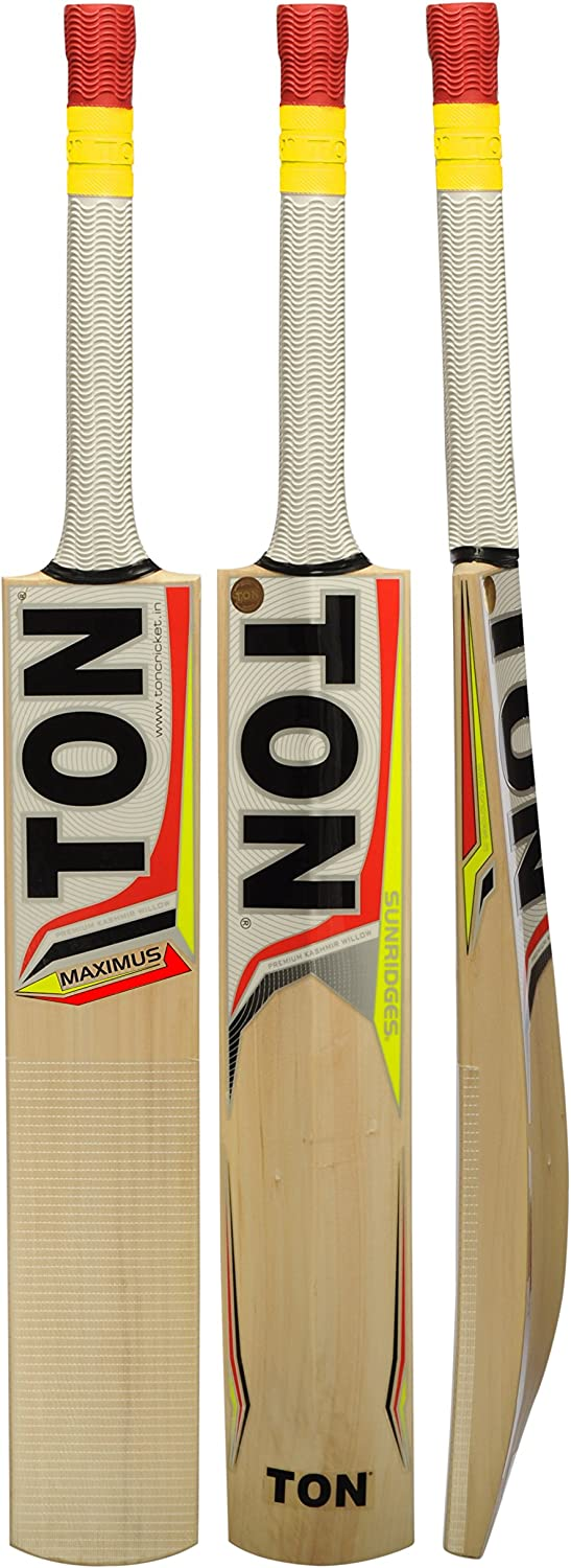 SS TON Maximus Cricket Bat Kashmir Free Willow by Max 74% OFF Ba Spring new work one after another Sunridges -
