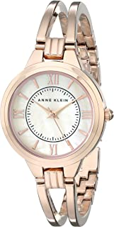 Anne Klein Classic Women's Dial Stainless Steel Band Watch - H2 AK-1440RMRG