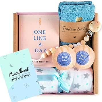 Becta Design - New Mom Gift Basket.