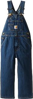 Carhartt Kids Washed Denim Bib Overalls (4-7)