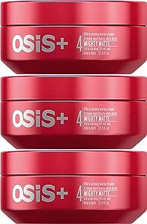 OSiS+ MIGHTY MATTE Ultra Strong Matte Cream, 2.8-Ounce (3-Pack)