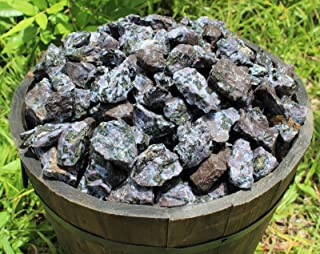 Dan Pratt 500 Carat Lot Bulk Natural Rough Indigo Gabbro (Raw Crystal Healing 100 Grams)