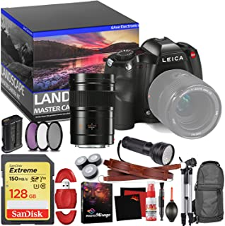 Leica S (Typ 006) Medium Format DSLR Camera (Body Only) - Master Landscape Photographer Kit - Memory Card - Accessories with Leica 30mm f/2.8 Lens (11073)