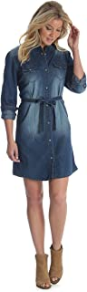 long sleeve jean dress
