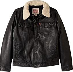 Sherpa Moto Jacket (Big Kids)