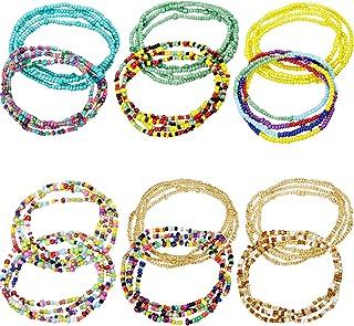 Norme Summer Jewelry Waist Bead Set, Colorful Waist Bead,...