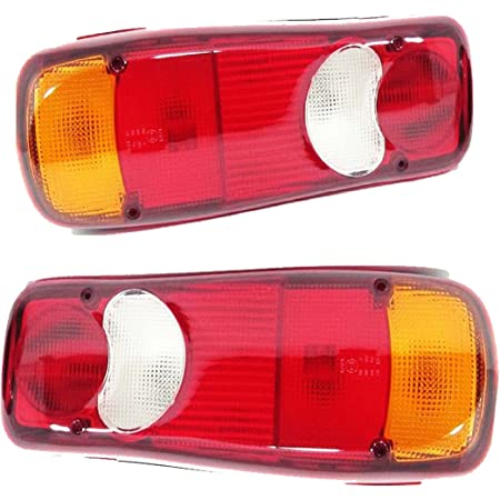 2x 12v 24v Rückleuchten Rücklicht 6 Funktionen Lkw Pkw Anhänger Heckleuchte Auto