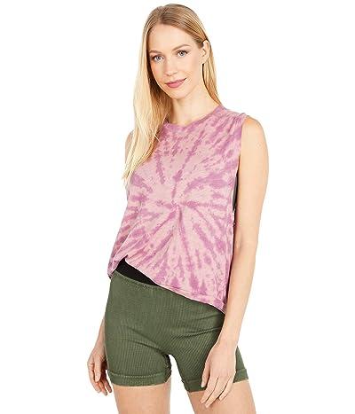FP Movement Love Tank Top Tie-Dye (Rosie/Maroon Dust) Women