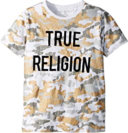 True Religion Kids - Metallic Tee (Big Kids)