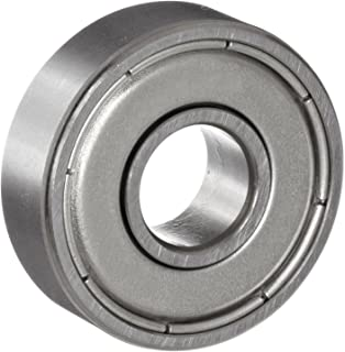 NSK 608Z Deep Groove Ball Bearing, Single Row, Single Shield, Pressed Steel Cage, Normal Clearance, Metric, 8mm Bore, 22mm OD, 7mm Width, 34000rpm Maximum Rotational Speed, 1370N Static Load Capacity, 3300N Dynamic Load Capacity
