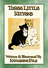 THREE LITTLE KITTENS - The illustrated adventures of three fluffy kittens