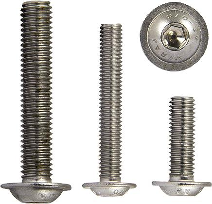 10 St/ück Zylinderschrauben//Zylinderkopfschrauben mit Innensechskant DIN 912 V2A Edelstahl M4//M5//M6//M8//M10 //// EHK-Verbindungstechnik M6 x 70