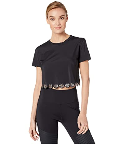 Ultracor Siren Crop T-Shirt (Nero/Brushed Rose) Women