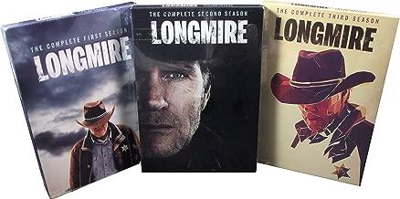 Longmire : Complete Series 1-3 Bundle Collection (7 Disc, DVD, 2015)