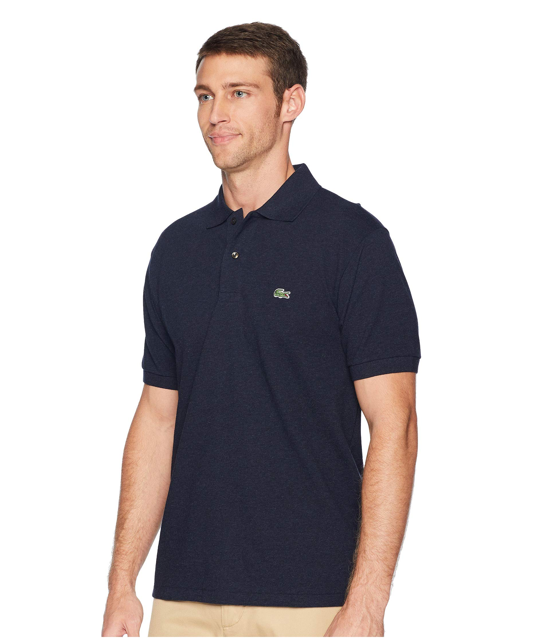 Lacoste Polo Classic Shirt Chine Eclipse Blue Pique rdTnrwOx