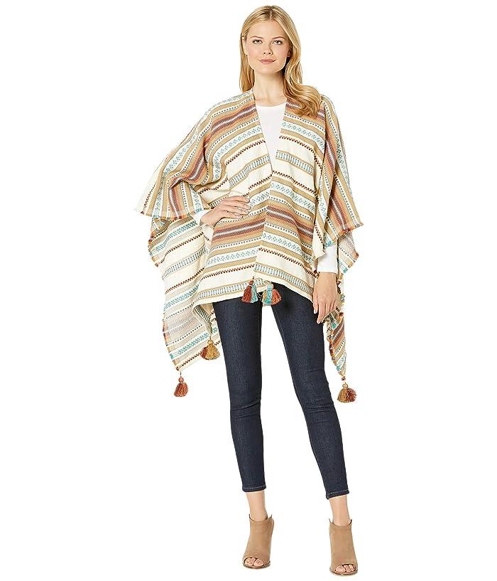 Pendleton Paloma Stripe Wrap (Bright Stripe) Women