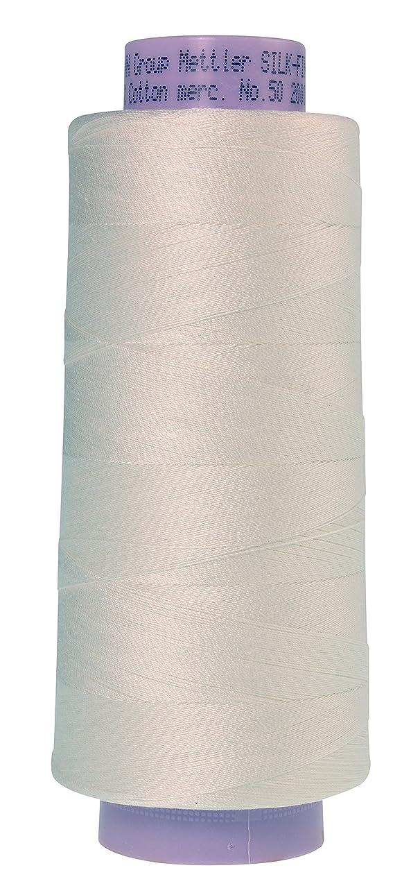 Mettler Silk-Finish Cotton Thread, 2000 yd/1829m, Candlewick