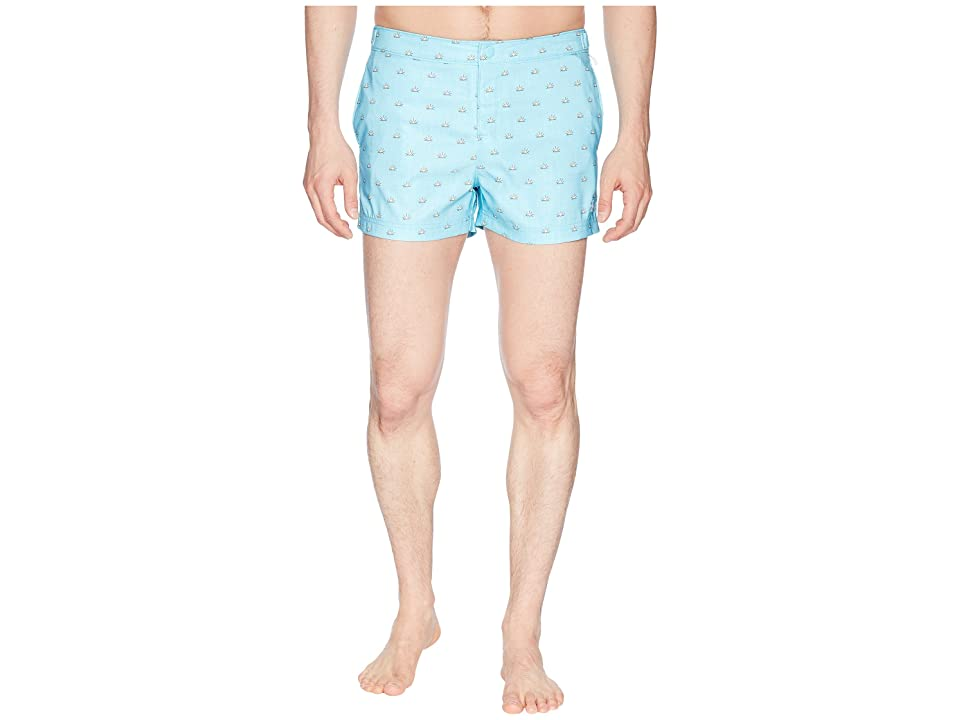 Original Penguin Sunshine Print Fixed (Blue Topaz) Men