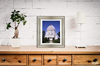 New York Map Company Chicago Photo, B'hai Temple, |Size: 8x10|Ready to Frame