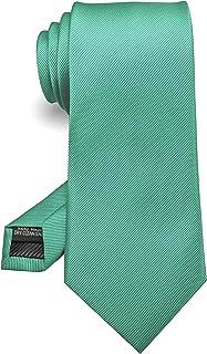 """JEMYGINS 3.15"""" Solid Color Tie Formal Necktie for Men (8cm)"""
