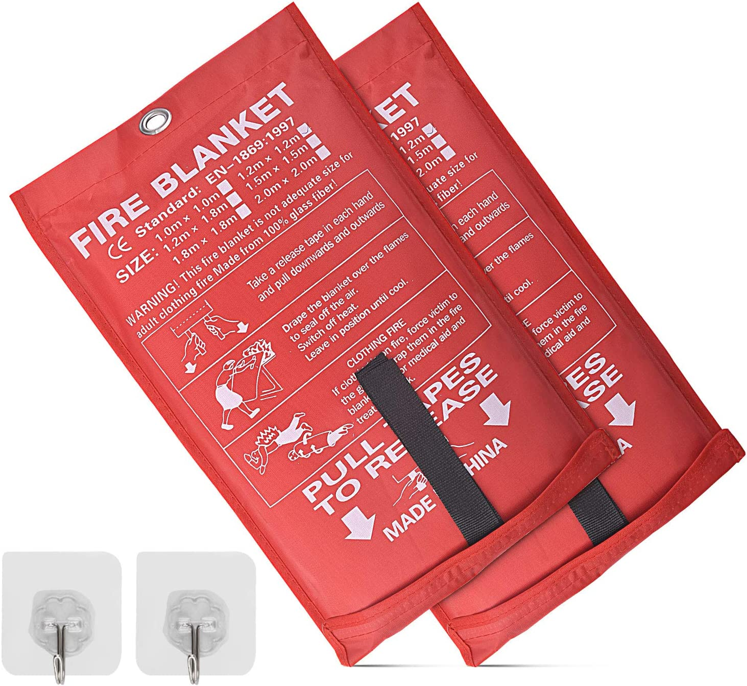 Fire Blanket Fiberglass Sur Challenge the lowest price overseas Carrying Emergency