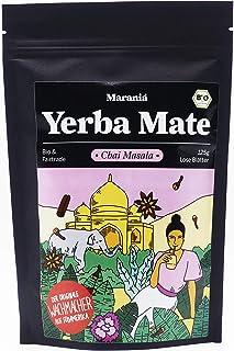 Marania Yerba Mate Tee Bio & Masala Chai Tee Bio  125g Indischer Tee lose  Gewürztee  Perfekt für Yerba Mate Chai Latte