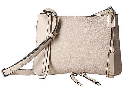 Vince Camuto Ida Small Crossbody (Seashell/Black) Cross Body Handbags