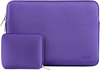 MOSISO Water Repellent Neoprene Sleeve Bag Cover Compatible with 13-13.3 inch Laptop with Small Case, Ultra Violet