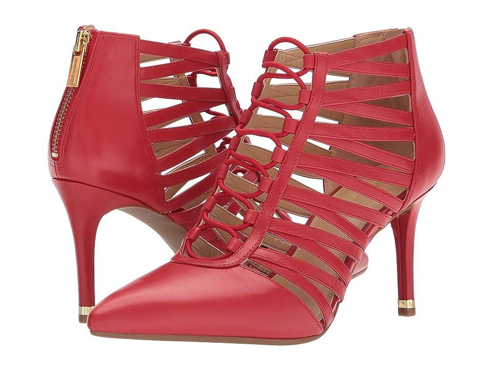 MICHAEL Michael Kors Clarissa Pump (Bright Red) Women