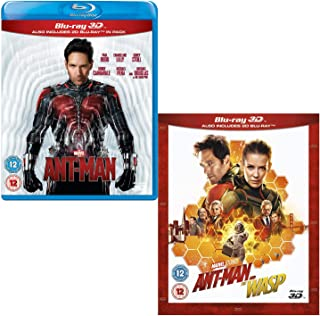 Ant-Man - Ant-Man and the Wasp (3D + 2D) - Marvel 2 Movie Bundling Blu-ray